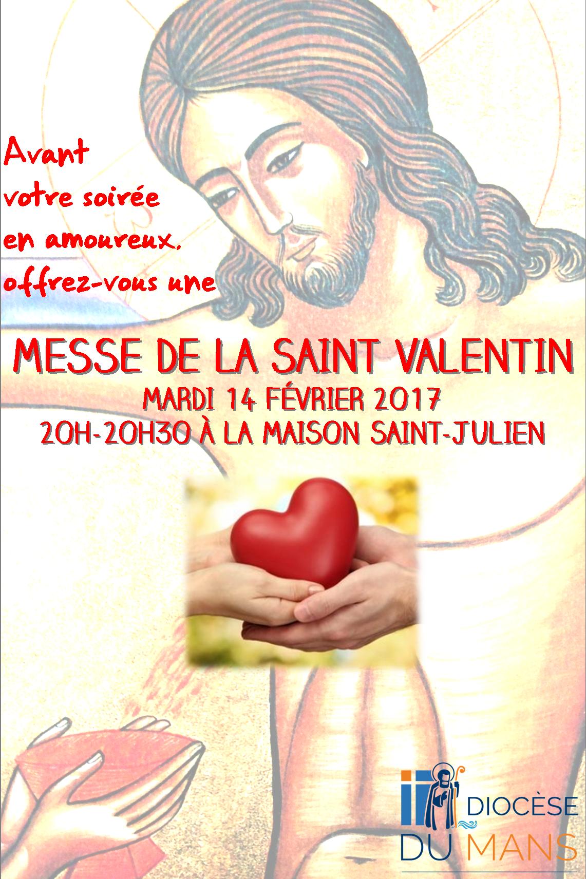 Messe de la saint valentin cath drale saint julien le mans - La saint valentin 2017 ...